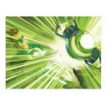 Green Lantern Power Post Card