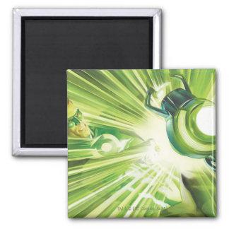 Green Lantern Power Square Magnet
