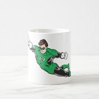 Green Lantern Punches Coffee Mug