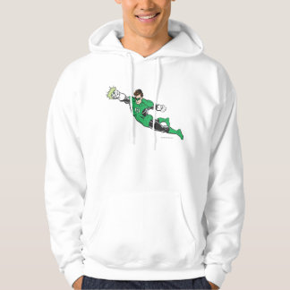 Green Lantern Punches Hoodie