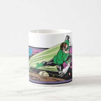 Green Lantern Races Thru Space Coffee Mug