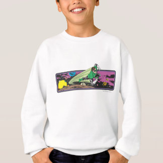 Green Lantern Races Thru Space Sweatshirt