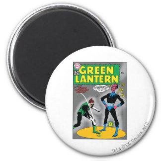 Green Lantern Removes Ring 6 Cm Round Magnet