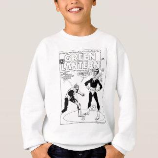Green Lantern Removes Ring, Black and White Sweatshirt