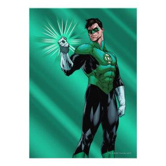 Green Lantern Ring Custom Invitation