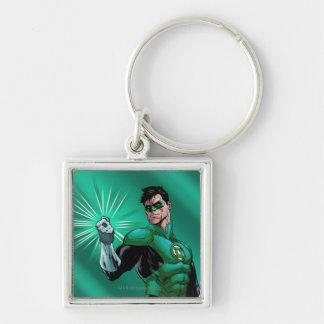Green Lantern & Ring Key Ring