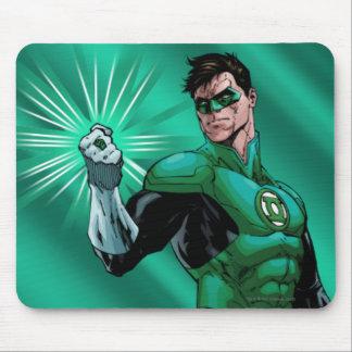 Green Lantern & Ring Mouse Mat