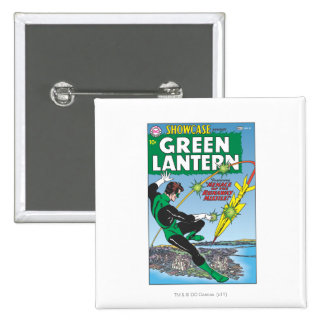 Green Lantern - Runaway Missile 15 Cm Square Badge