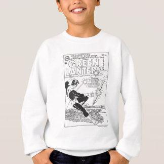 Green Lantern - Runaway Missile, Black and White Sweatshirt