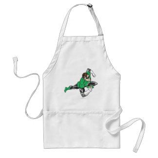 Green Lantern Runs Aprons