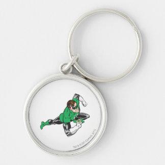 Green Lantern Runs Key Ring
