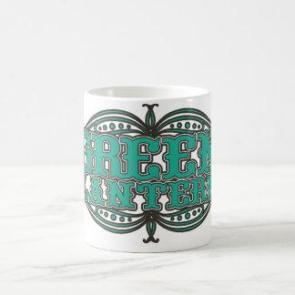 Green Lantern Showtime Letters Coffee Mug