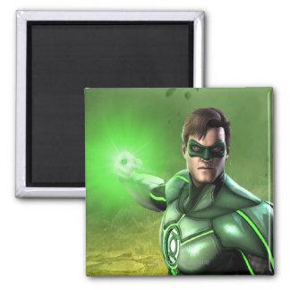 Green Lantern Square Magnet