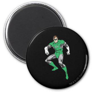 Green Lantern Squats 6 Cm Round Magnet