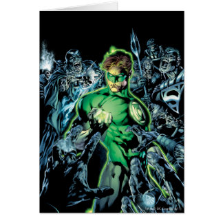 Green Lantern Surrounded - Color Card