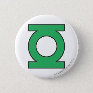 Green Lantern Symbol 6 Cm Round Badge