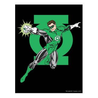Green Lantern & Symbol Postcard