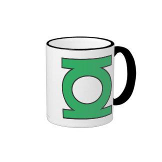 Green Lantern Symbol Ringer Mug