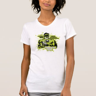 Green Lantern Text Collage - Color T-Shirt