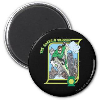 Green Lantern - The Emerald Warrior 6 Cm Round Magnet