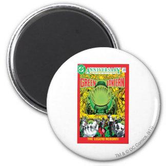 Green Lantern - The Legend Reborn 6 Cm Round Magnet