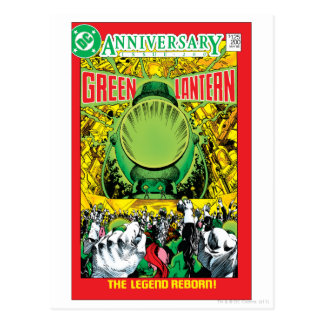 Green Lantern - The Legend Reborn Postcard