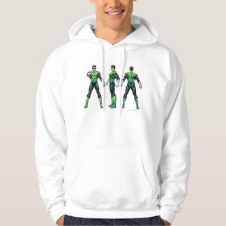 Green Lantern Three Views Hoodie