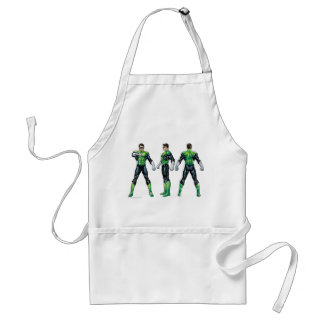 Green Lantern Three Views Standard Apron