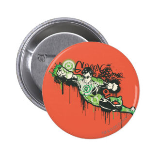 Green Lantern - Twisted Innocence Poster 6 Cm Round Badge