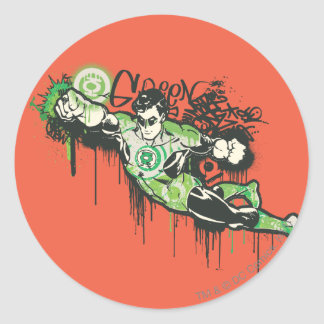 Green Lantern - Twisted Innocence Poster Classic Round Sticker