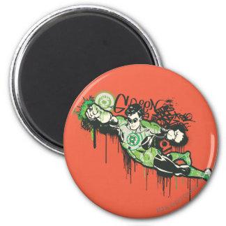 Green Lantern - Twisted Innocence Poster 6 Cm Round Magnet