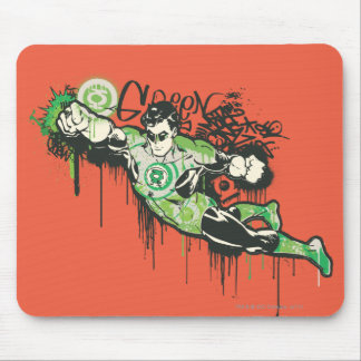Green Lantern - Twisted Innocence Poster Mouse Pad