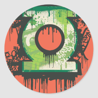 Green Lantern - Twisted Innocence Symbol Classic Round Sticker