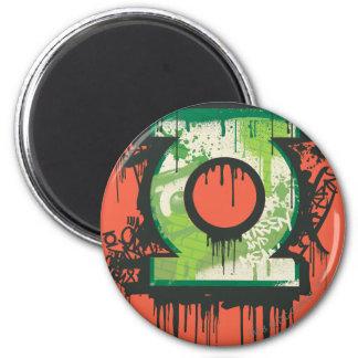 Green Lantern - Twisted Innocence Symbol 6 Cm Round Magnet