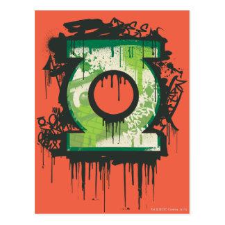 Green Lantern - Twisted Innocence Symbol Postcard