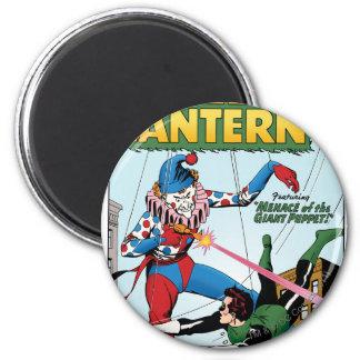 Green Lantern vs Clown 6 Cm Round Magnet