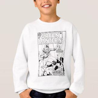 Green Lantern vs Clown, Black and White Sweatshirt