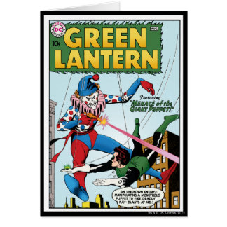 Green Lantern vs Clown Card