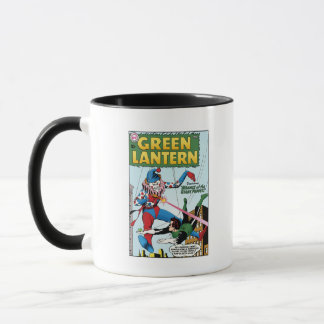 Green Lantern vs Clown Mug