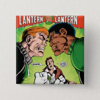 Green Lantern vs Green Lantern 15 Cm Square Badge