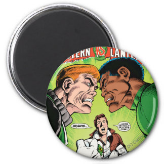 Green Lantern vs Green Lantern 6 Cm Round Magnet
