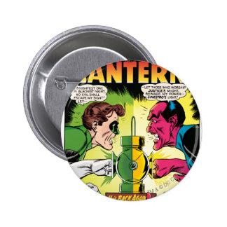 Green Lantern vs Sinestro 6 Cm Round Badge