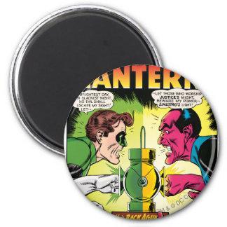 Green Lantern vs Sinestro 6 Cm Round Magnet