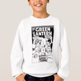 Green Lantern vs Sinestro, Black and White Sweatshirt