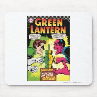 Green Lantern vs Sinestro Mouse Pad