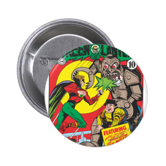 Green Lantern vs The Wizard of Odds 6 Cm Round Badge