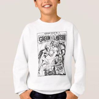 Green Lantern vs The Wizard of Odds, Black and Whi Sweatshirt