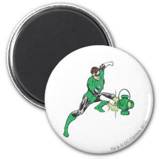 Green Lantern with Lantern 2 Magnets