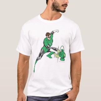 Green Lantern with Lantern 2 T-Shirt