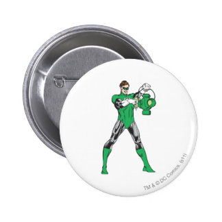 Green Lantern with Lantern 6 Cm Round Badge